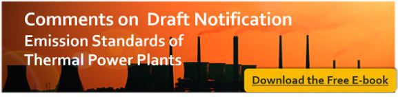 E-book-Comments on Draft Emission Standards for Cola based Thermal Power Plants