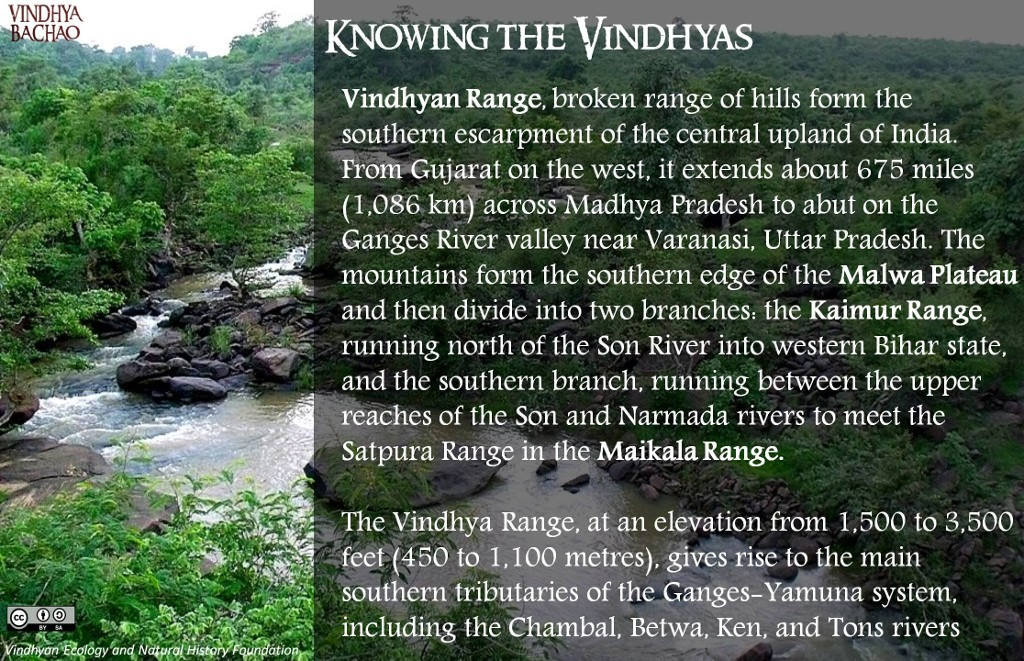 Poster 5: Knowing the Vindhyas