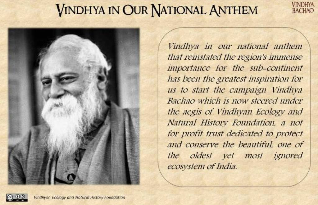 Poster 1: Vindhya in Our National Anthem