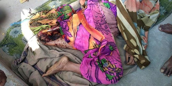 Photo- Corpse of Women-courtesy-IBN 24x7