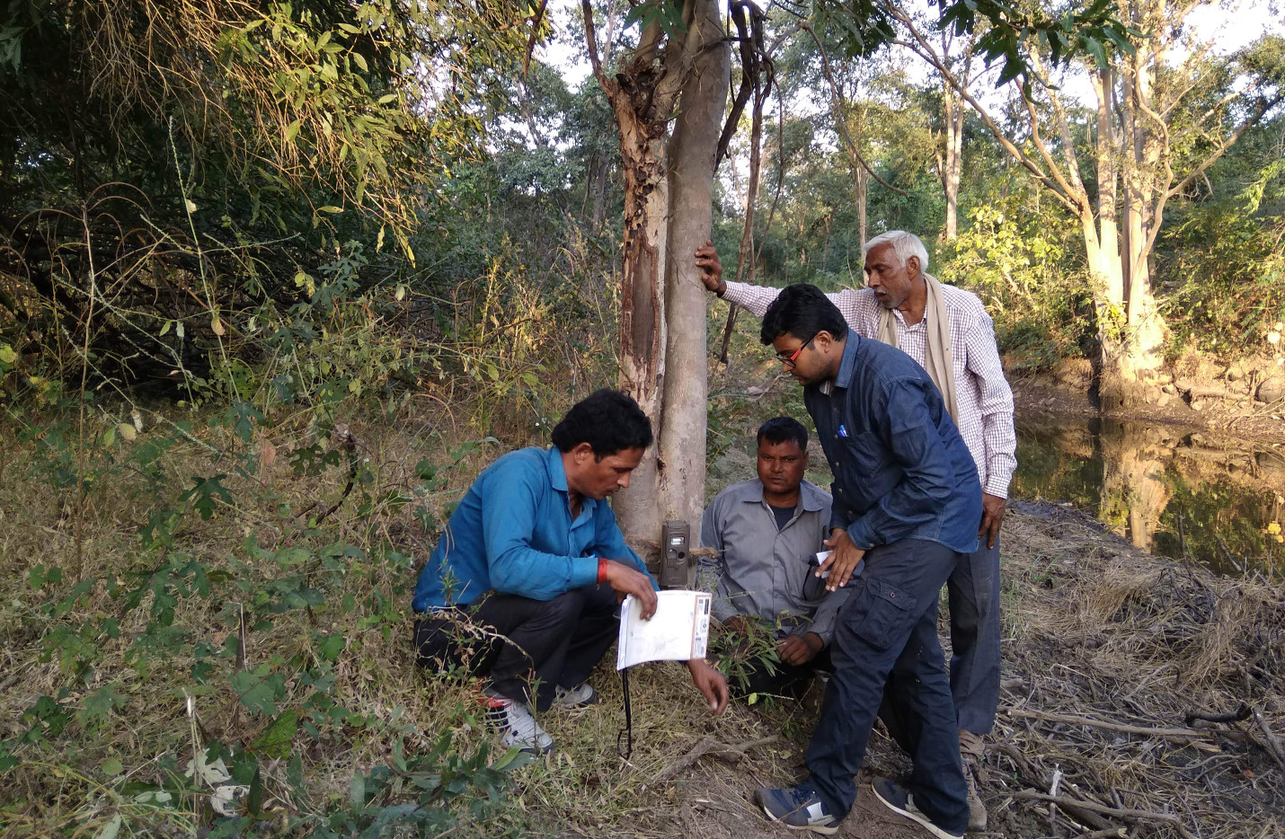 Training of Forest Staff at Ranipur Wildlife Sanctuary